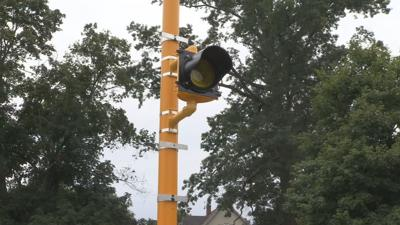 Newly installed lights aim to reduce traffic build up between West Springfield, Agawam.