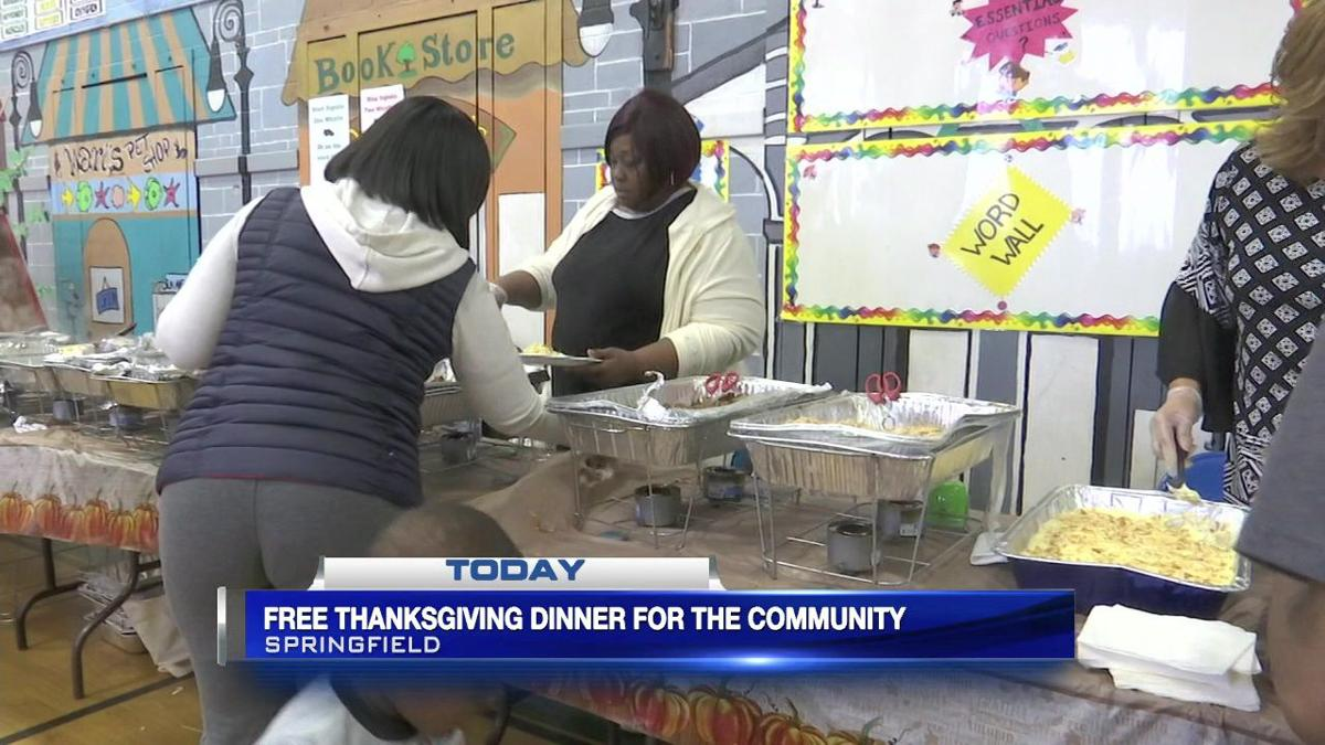 Free Thanksgiving dinner for the Springfield community