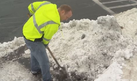 Crews working to clear storm drains before Friday's rain