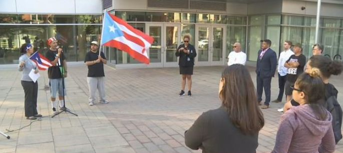 Vigil held in Springfield for Hurricane Maria victims