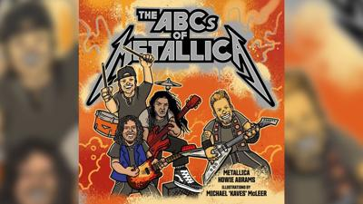 Metallica releases children's book