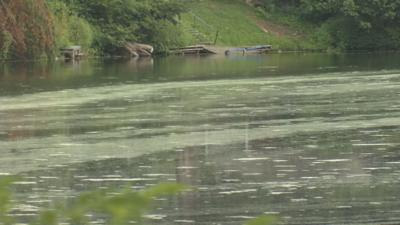 Temporary closure of Easthampton pond impacting surrounding businesses.
