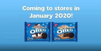 Oreo announces 2 new flavors for 2020: Chocolate marshmallow and caramel coconut