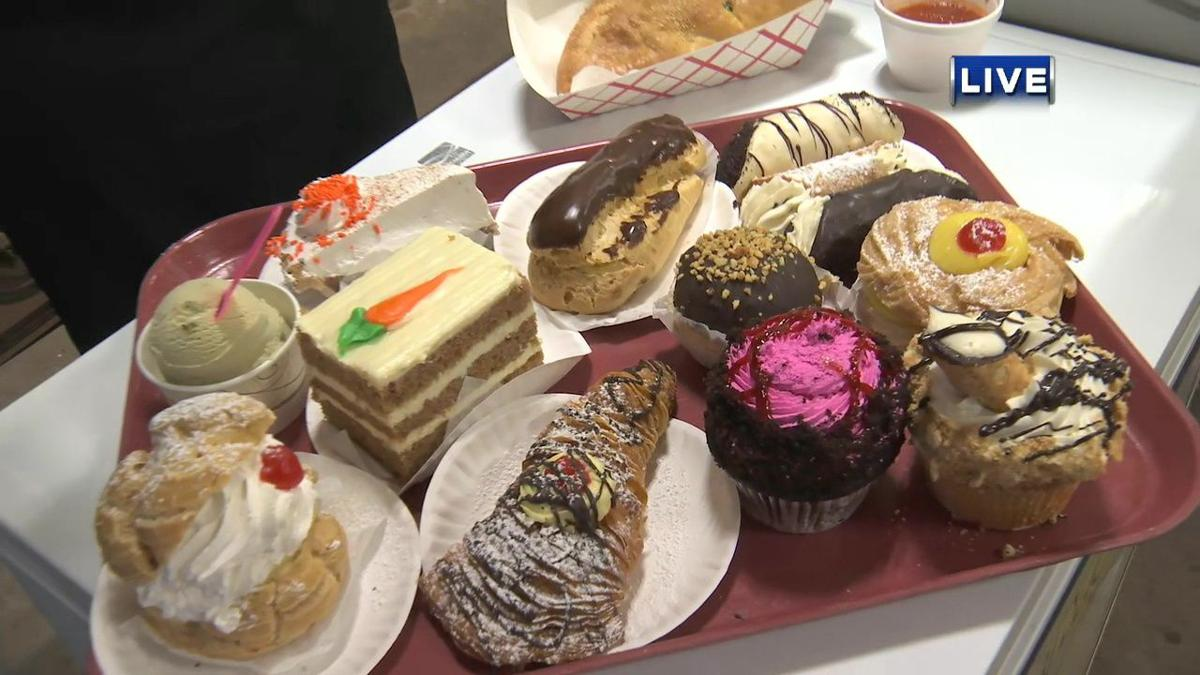 Local bakery offering some sweet treats in the Young Building