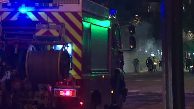 At least 135 people injured in France protests