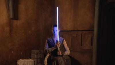 Disney unveils a real-life lightsaber