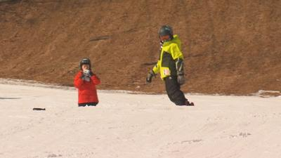 Surprise Squad helps ease the cost of admission for Ski Blandford customers.