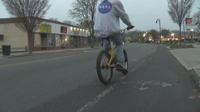 Community reacts to Springfield's crackdown on dirt bikes, bicyclists.