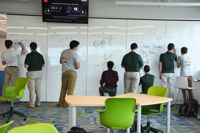 St. Edward High School's Lowe Institute for Innovation