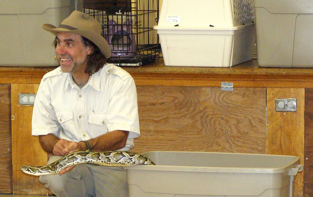 Jungle Terry visits North Ridgeville school