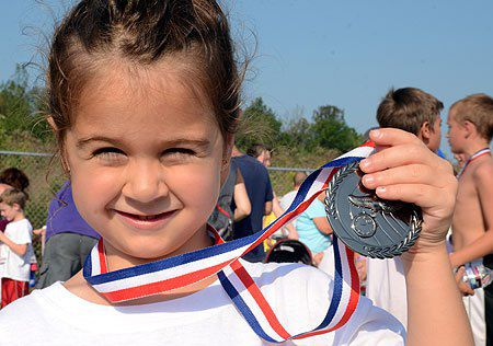 Saturday's heat doesn't deter runners