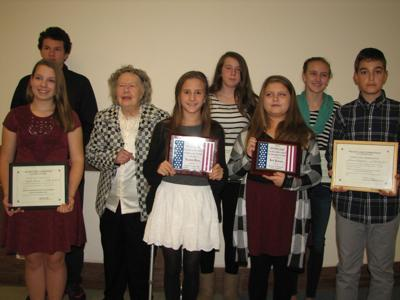 Students recognized for remembering Armed Forces