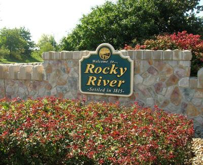 Rocky River Sign