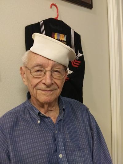 World War II veteran Wally Pence, 99