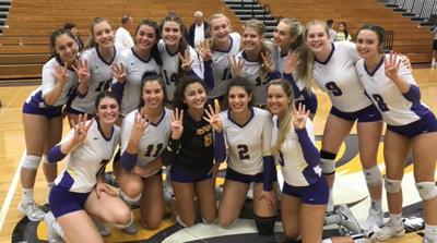 Avon Volleyball SWC Champs