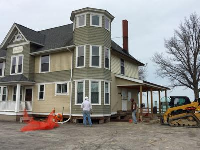 After long haul, exterior Folger Home upgrades nearing completion