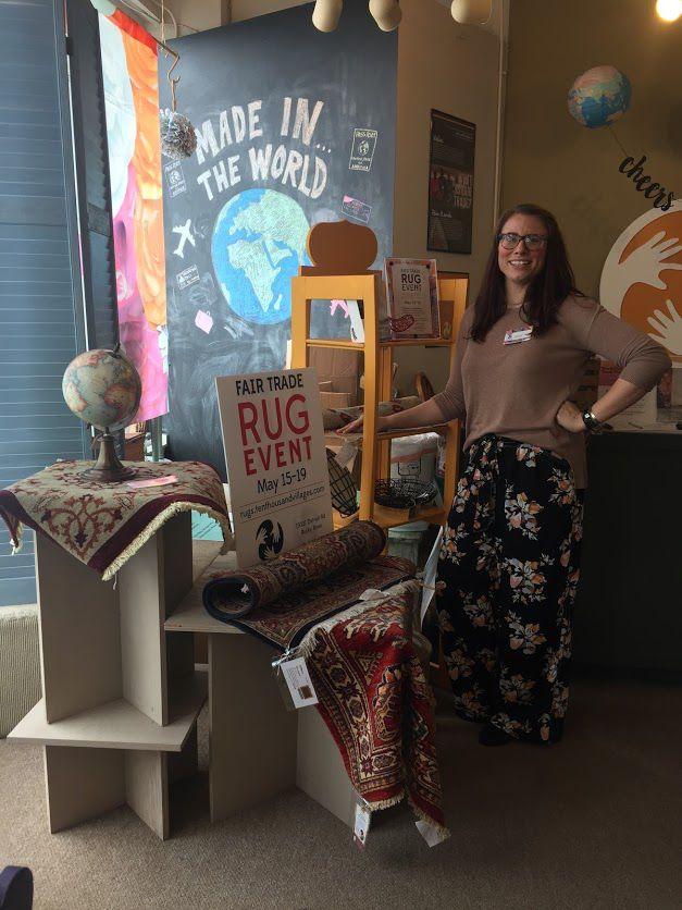 One World Shop rug sale