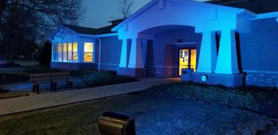 Going blue for autism awareness