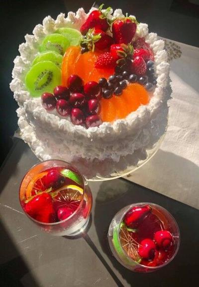 Fakelicious – coconut cake