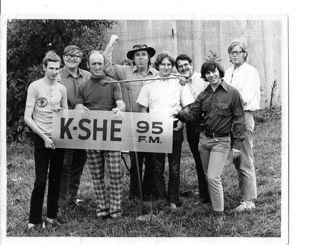 KSHE staff (Source: Missouri Historical Society)