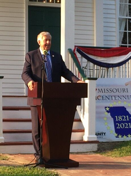 Gov Mike Parson at Thornhill 9-2021