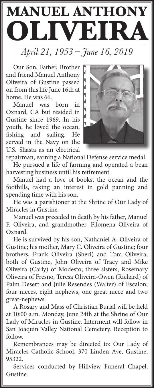 Tribute: Manuel A. Oliveira