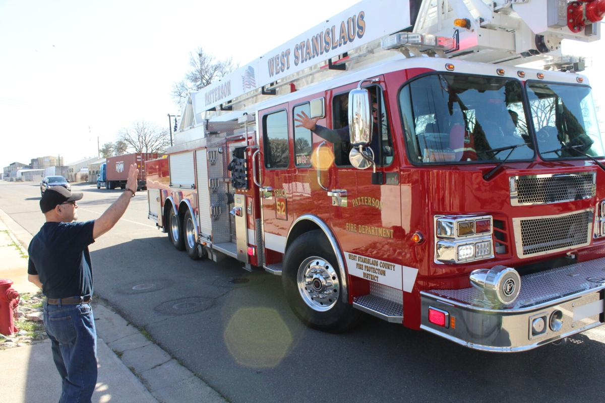 Photo: Firefighter Retirement