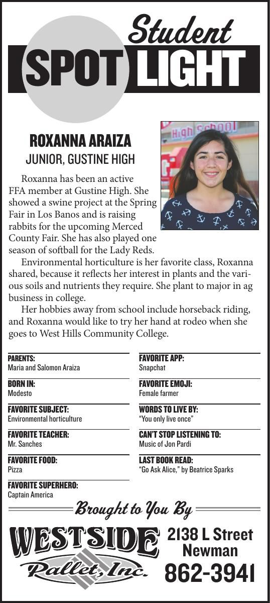 Student Spotlight: Roxanna Araiza