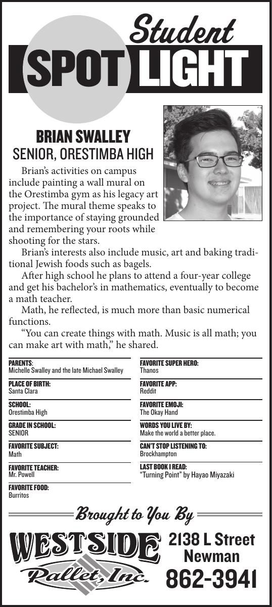 Student Spotlight: Brian Swalley