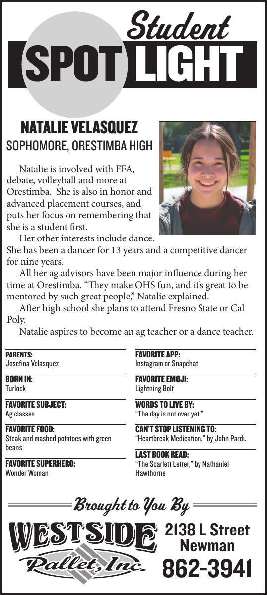 Student Spotlight: Natalie Velasquez