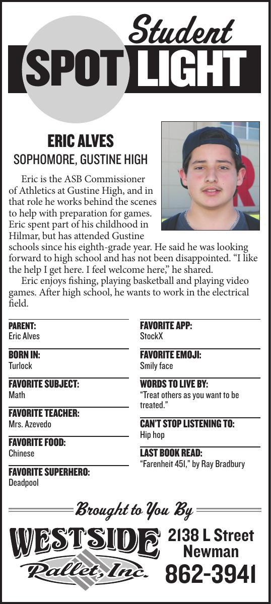 Student Spotlight: Eric Alves