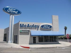 McAuley Ford building