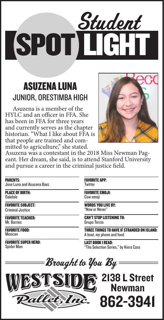 Student Spotlight: Asuzena Luna