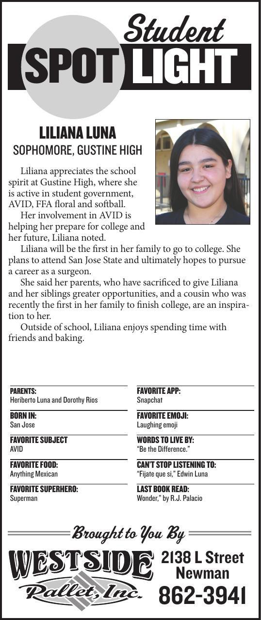 Student Spotlight: Liliana Luna