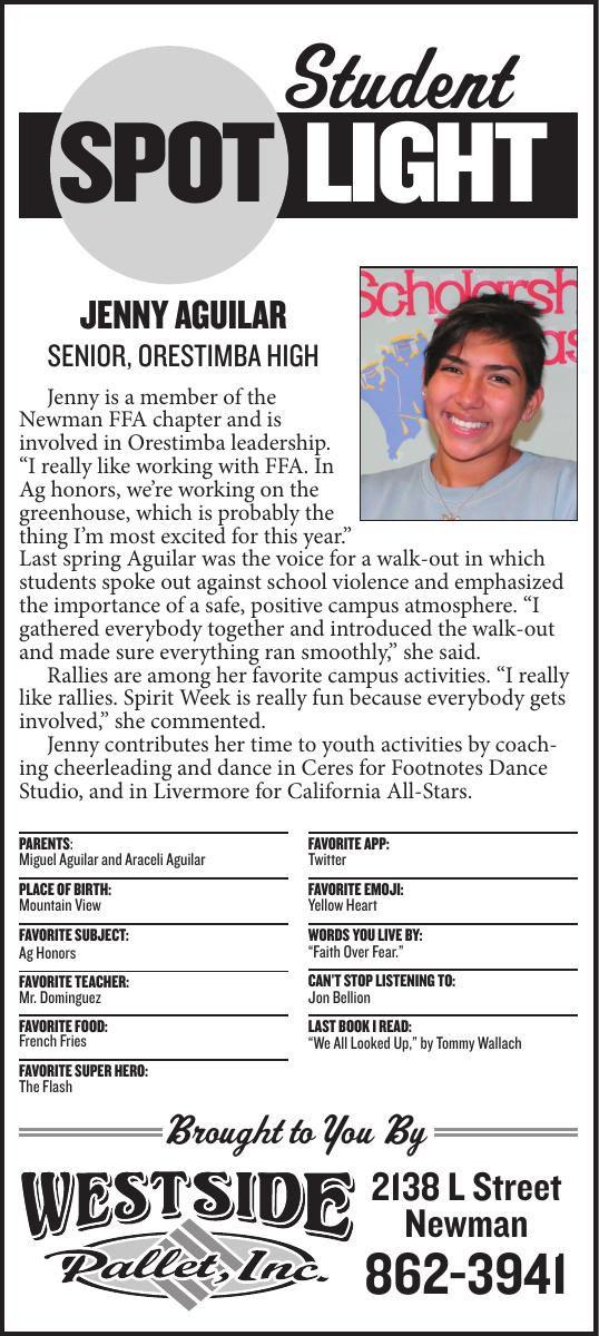 Student Spotlight: Jenny Aguilar
