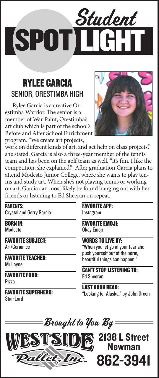 Student Spotlight: Rylee Garcia