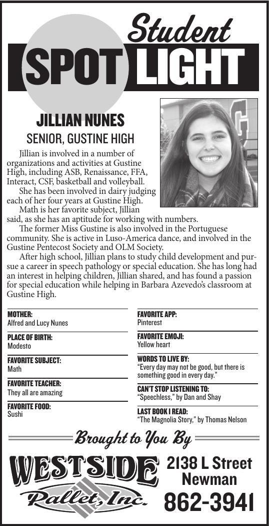 Student Spotlight: Jillian Nunes