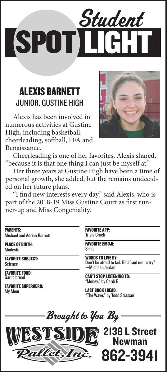 Student Spotlight: Alexis Barnett