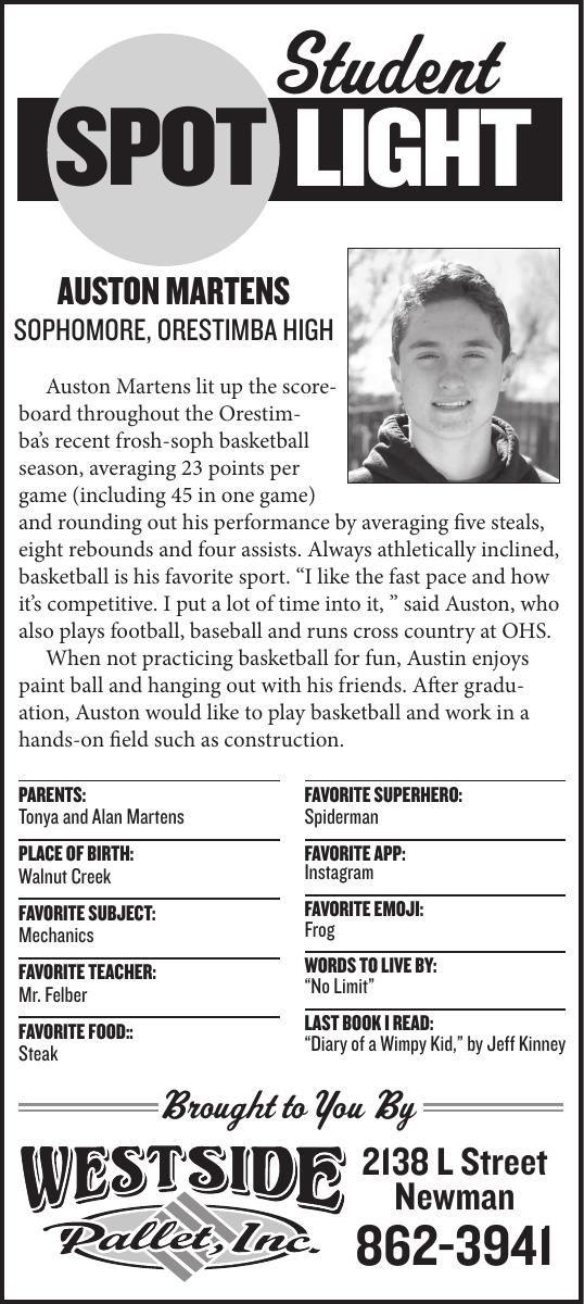 Student Spotlight: Auston Martens