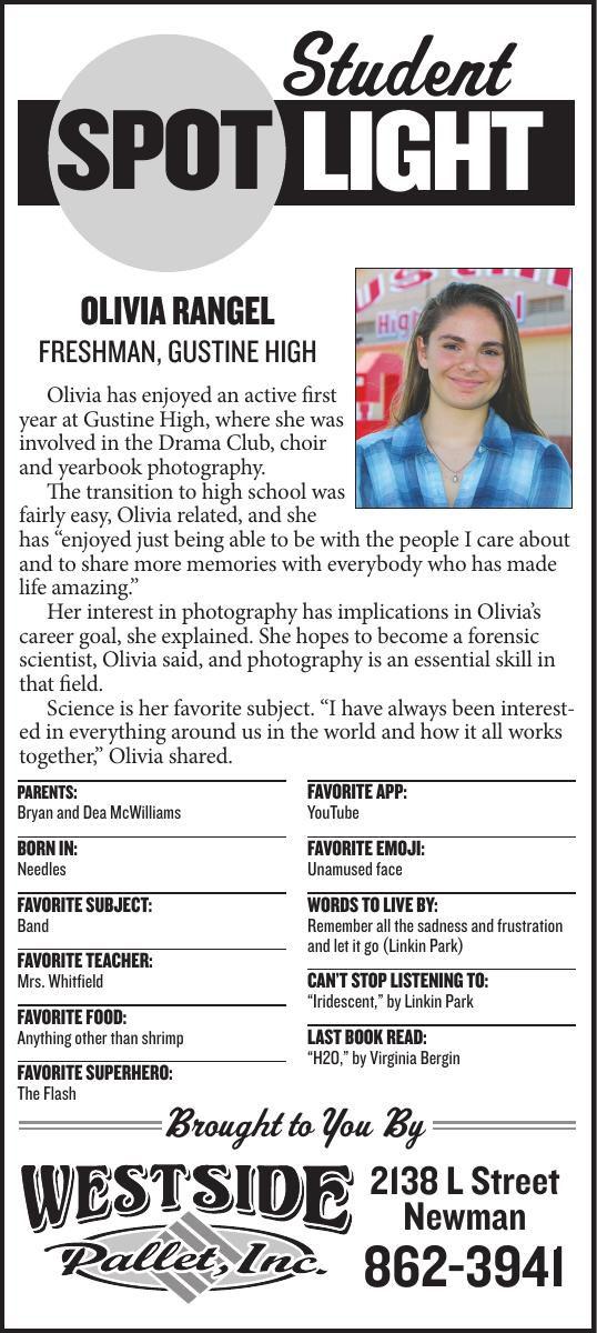 Student Spotlight: Olivia Rangel