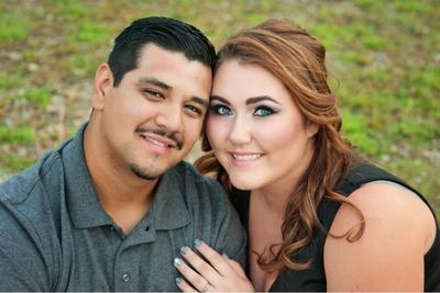 Katrina Velez and Emanuel Millan