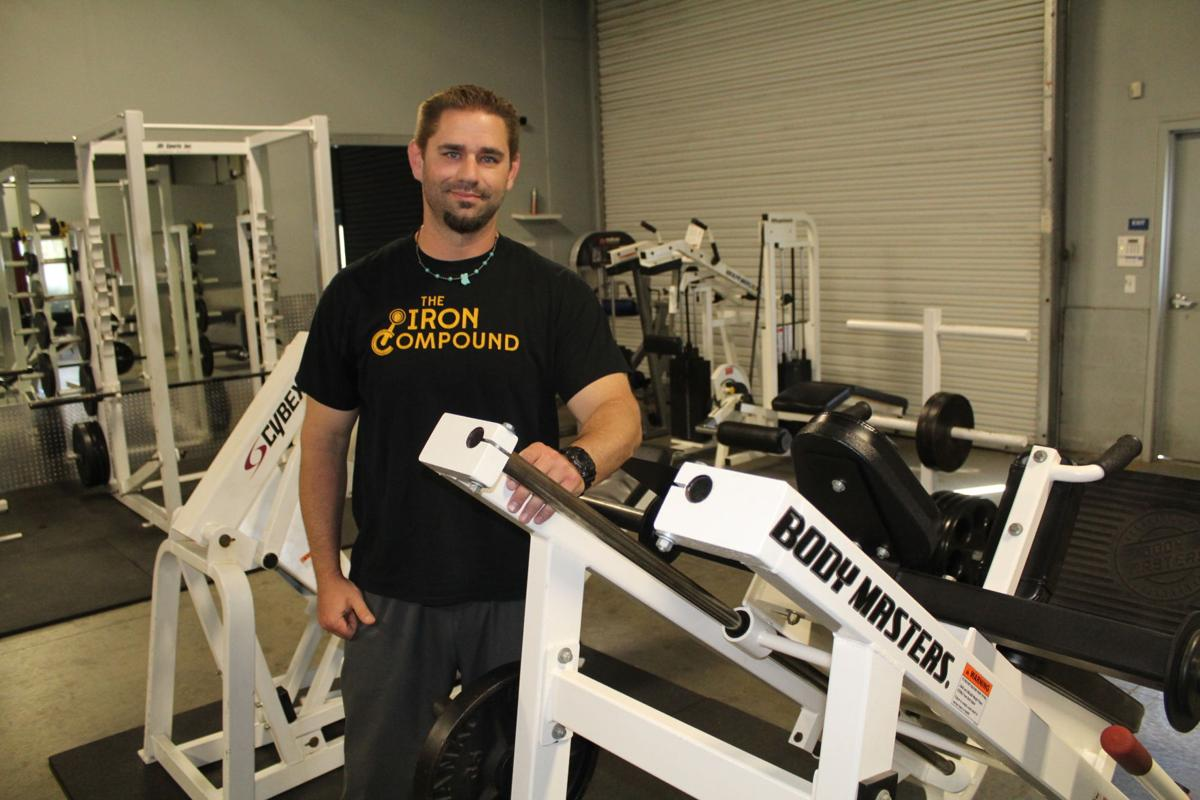 Ohs Grad Pushes Workout Clients In Iron Compound Special Features Westsideconnect Com
