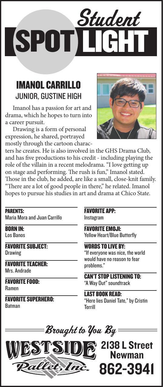 Student Spotlight: Imanol Carrillo