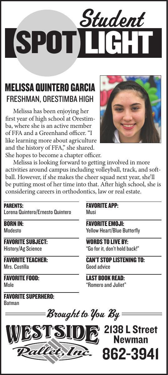 Student Spotlight: Melissa Quintero Garcia