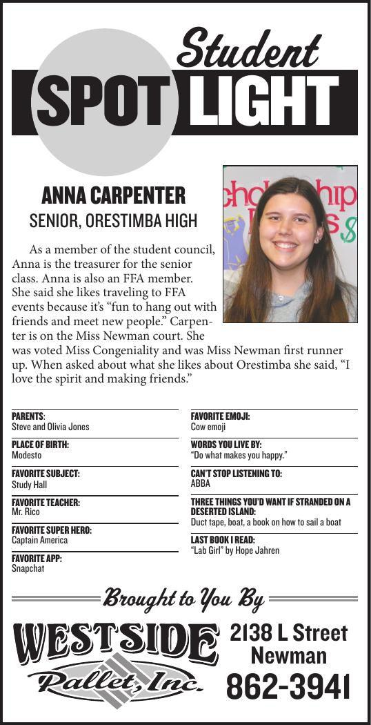 Student Spotlight: Anna Carpenter