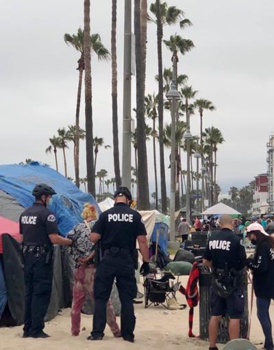 Venice Boardwalk Performer arrtested
