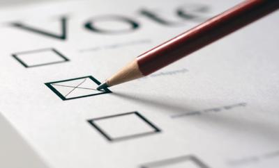 Vote Election Ballot