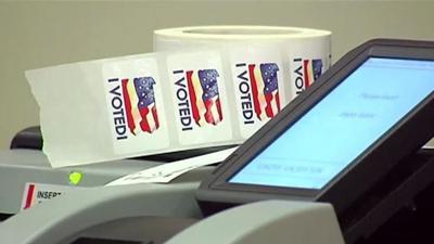 New voting machines