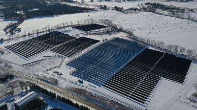 SEPTA solar farm in Franklin County