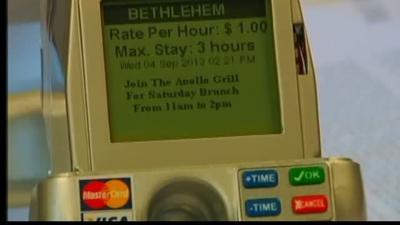 Bethlehem unveiling new, high-tech parking meters